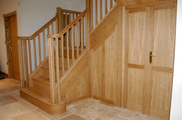 Staircase - cupboard