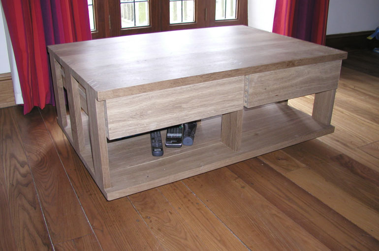 Andrew Lane Furniture Large Coffee Table