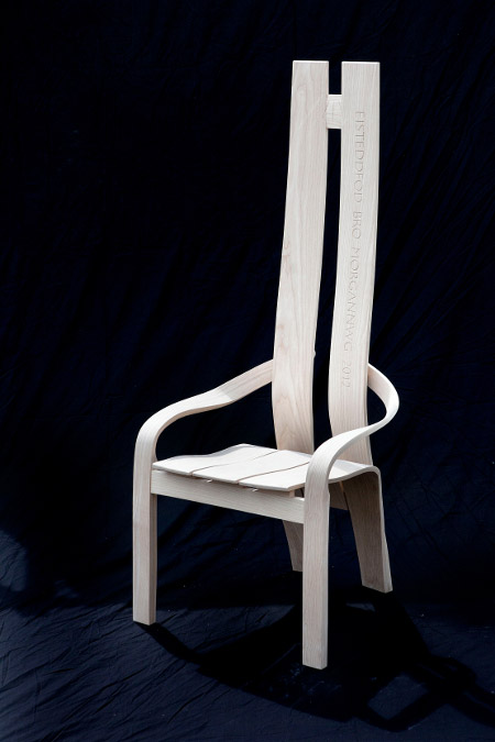 The 2012 Eisteddfod Chair by Andrew Lane