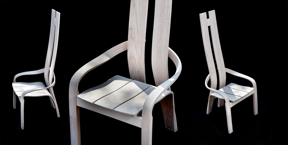 The 2012 Esiteddfod Chair by Andrew Lane