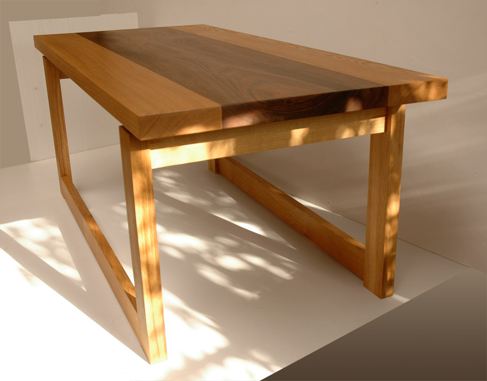 Andrew Lane Furniture Chunky Coffee Table
