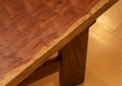 ALF_Dining Table edge grain
